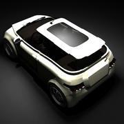 Enamoramiento II Concept Car modelo 3d
