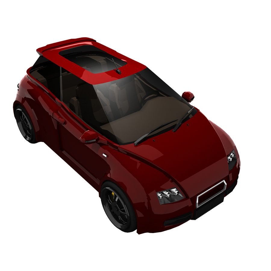 Infatuation IIコンセプトカー royalty-free 3d model - Preview no. 8
