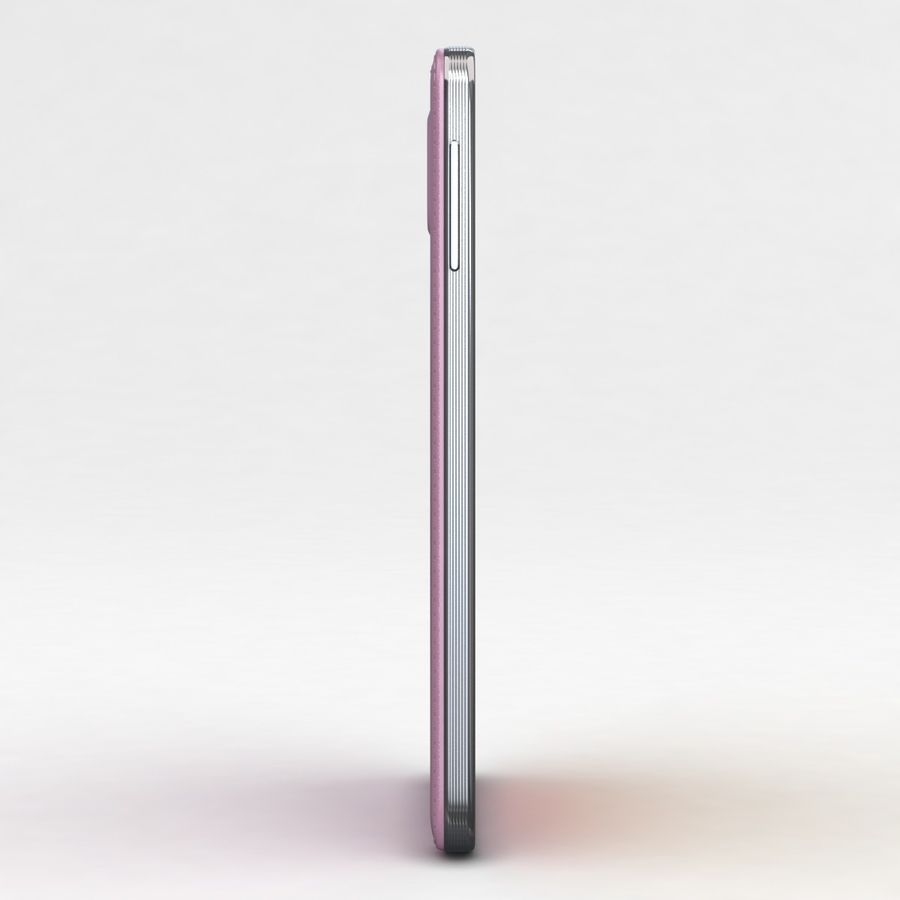 Samsung Galaxy Note 3 Pink royalty-free 3d model - Preview no. 20