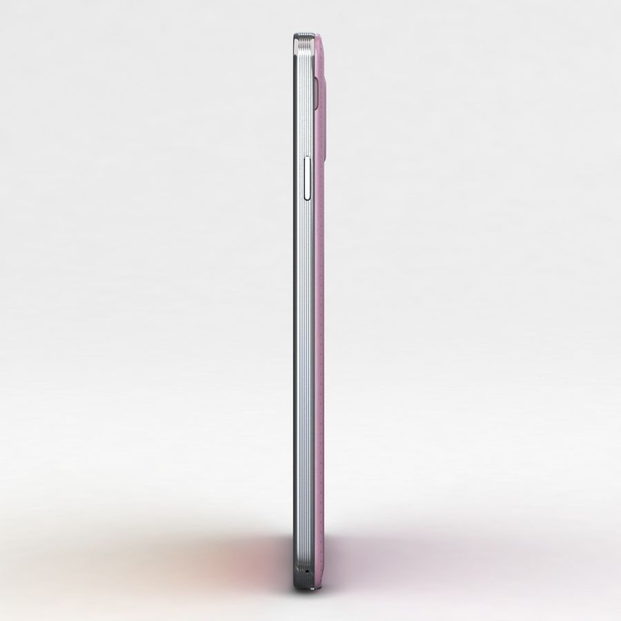 Samsung Galaxy Note 3 Pink royalty-free 3d model - Preview no. 21