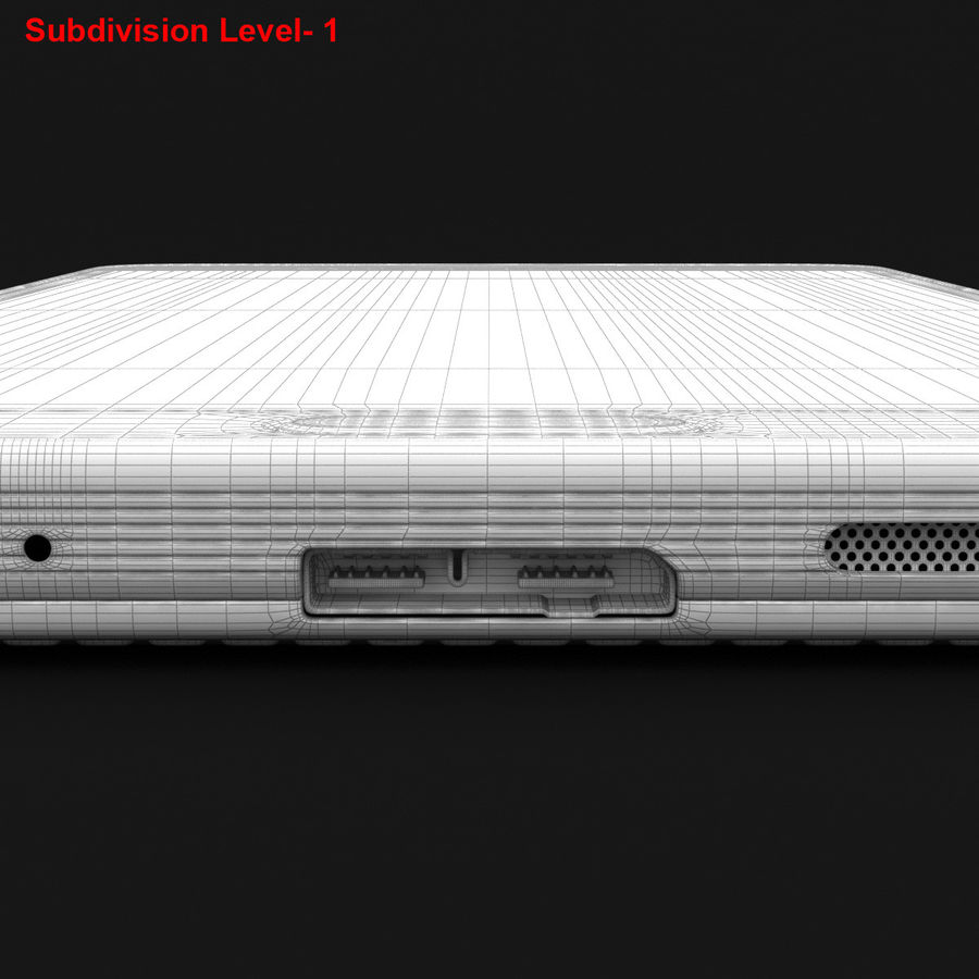 Samsung Galaxy Note 3 Pink royalty-free 3d model - Preview no. 33