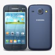 Samsung Galaxy Core Azul Metálico 3d model