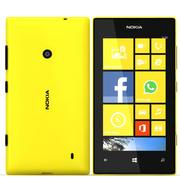 Nokia Lumia 520 Yelllow 3d model