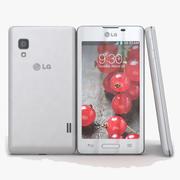 LG Optimus L5 II E460 Biały 3d model
