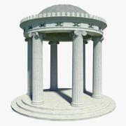 Templo clasico modelo 3d