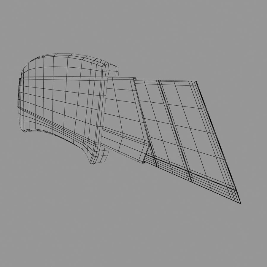 Cutter royalty-free 3d model - Preview no. 12