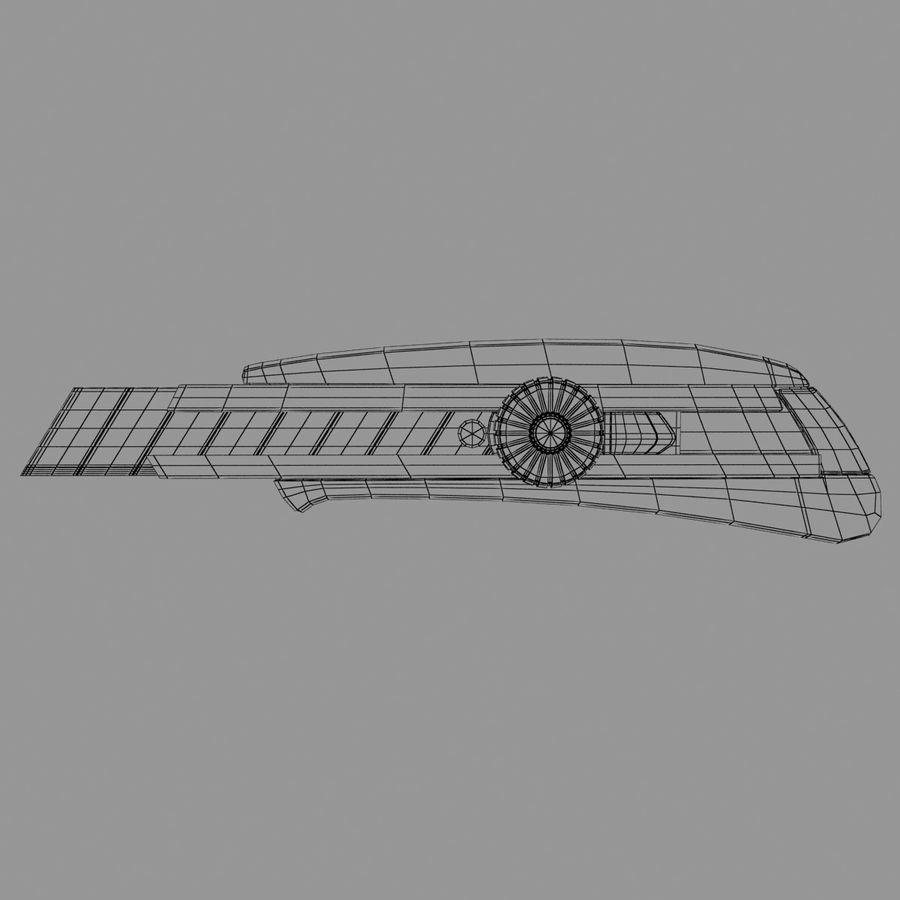 Cutter royalty-free 3d model - Preview no. 8