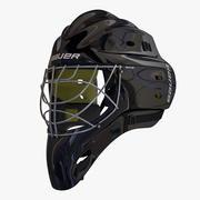 Masque de hockey sur glace 3d model