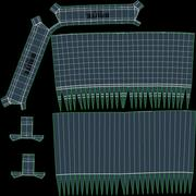 Commercial Brute Refuse Container 3d model