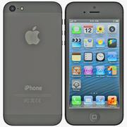 iPhone 5 Black 3d model