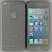 iPhone 5 Preto 3d model