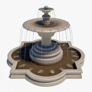 Fonte de água 3d model