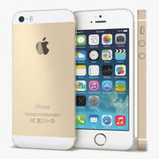 Apple iPhone 5s Gold 3d model