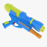 おもちゃの水鉄砲 3d model