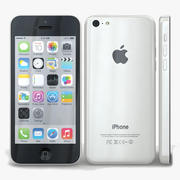 Apple iPhone 5с Белый 3d model