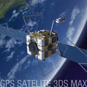 GPS-Satellit 3d model