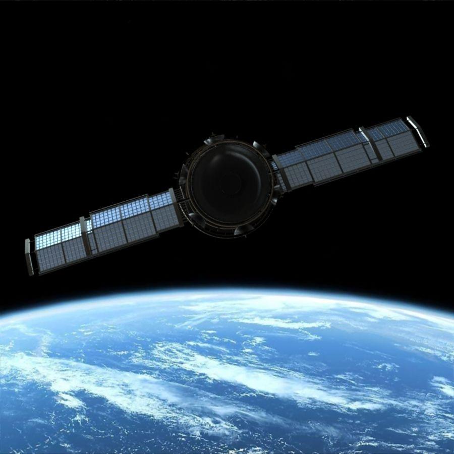 Satellite royalty-free 3d model - Preview no. 6