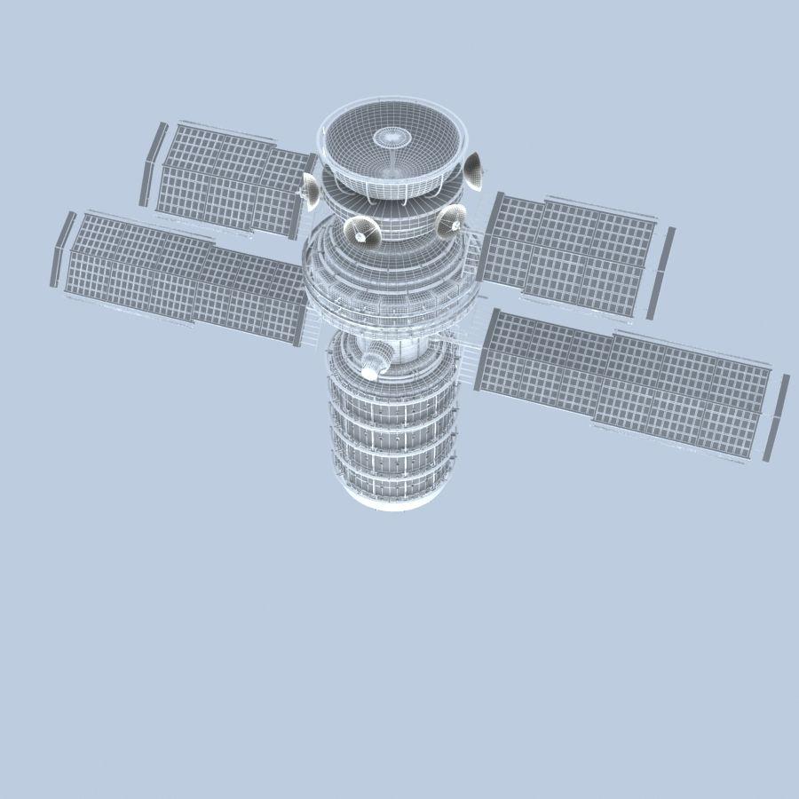 Satellite royalty-free 3d model - Preview no. 7