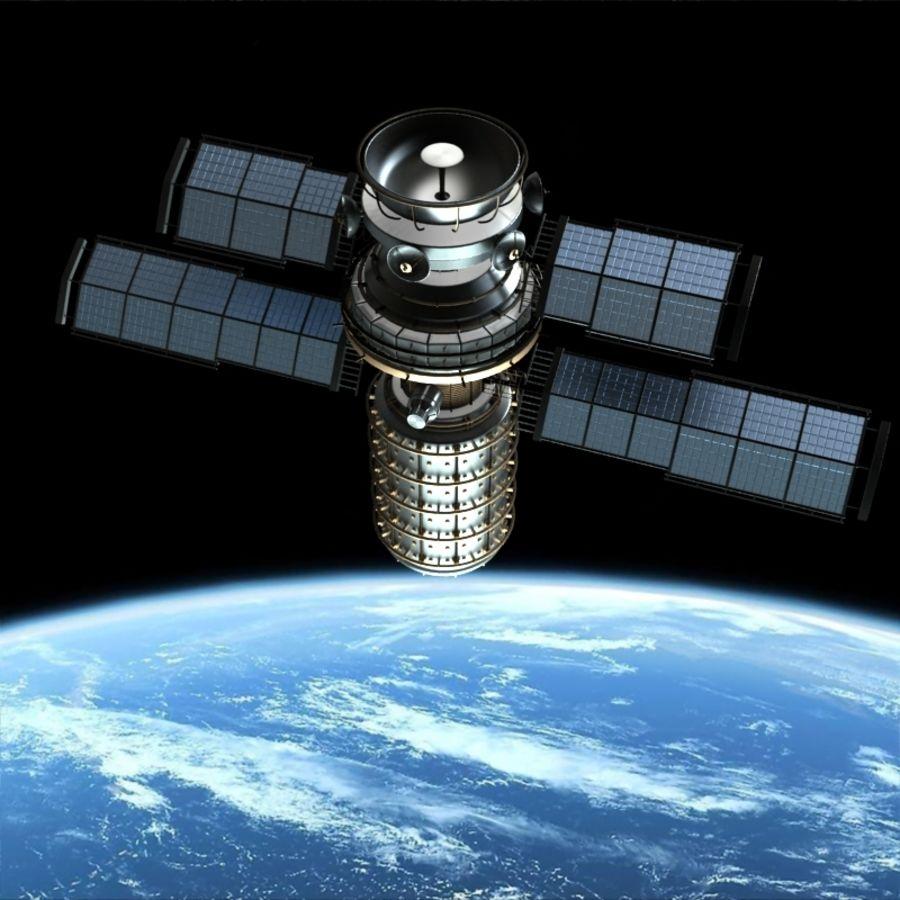 Satellite royalty-free 3d model - Preview no. 2