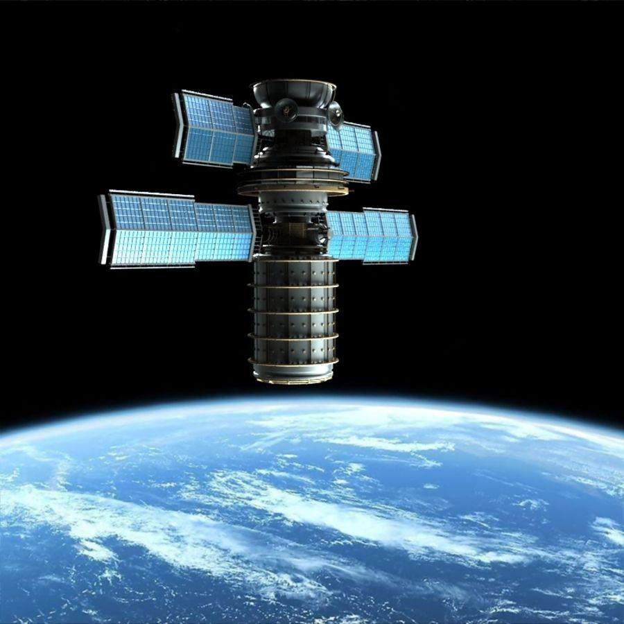 Satellite royalty-free 3d model - Preview no. 4