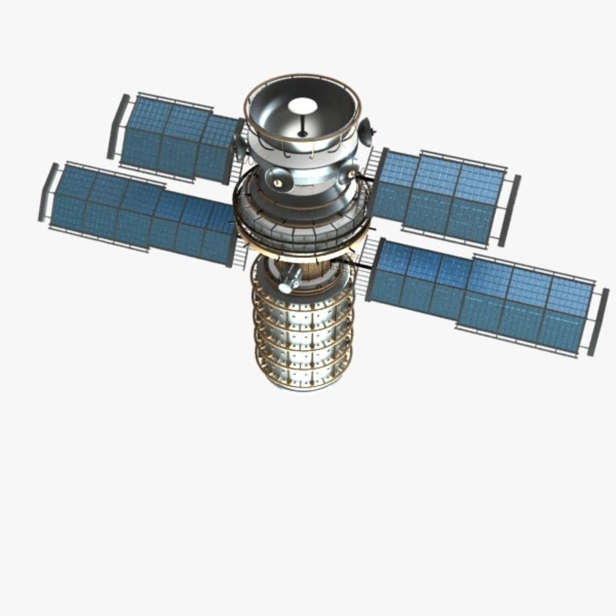 Satellite royalty-free 3d model - Preview no. 1
