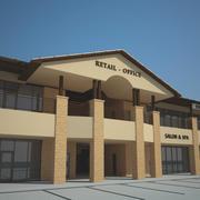 Einzelhandel & Büro 3d model