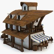 海賊の居酒屋 3d model