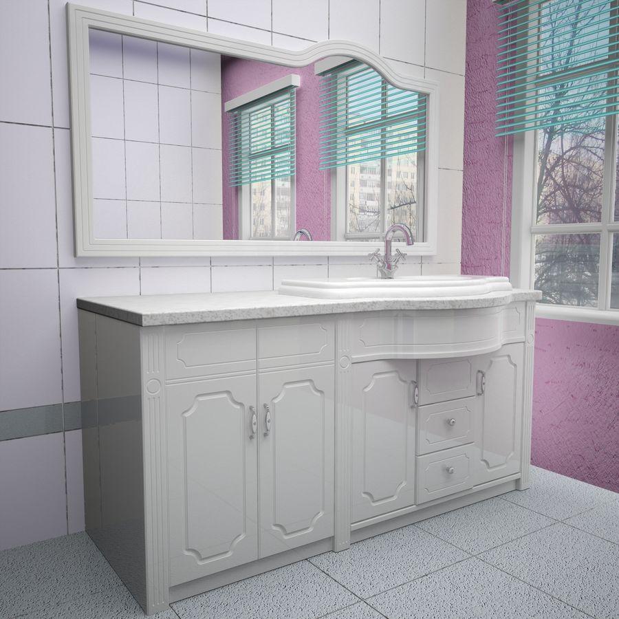 Banyo Mobilyaları 04 royalty-free 3d model - Preview no. 2