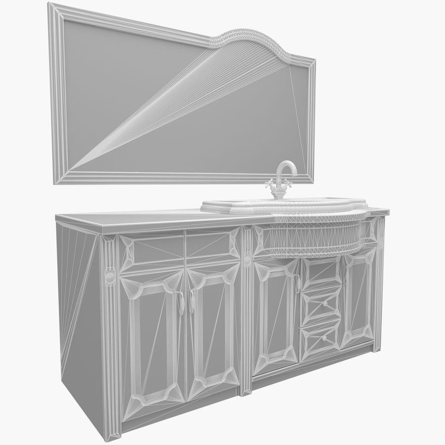 Banyo Mobilyaları 04 royalty-free 3d model - Preview no. 3