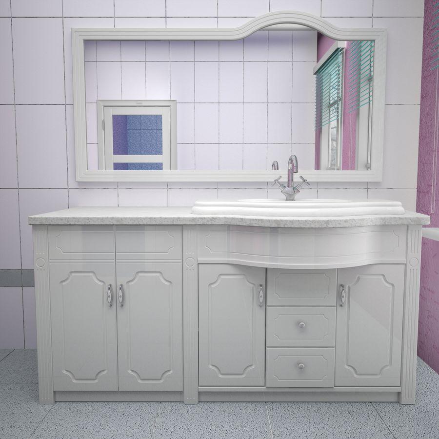 Banyo Mobilyaları 04 royalty-free 3d model - Preview no. 4