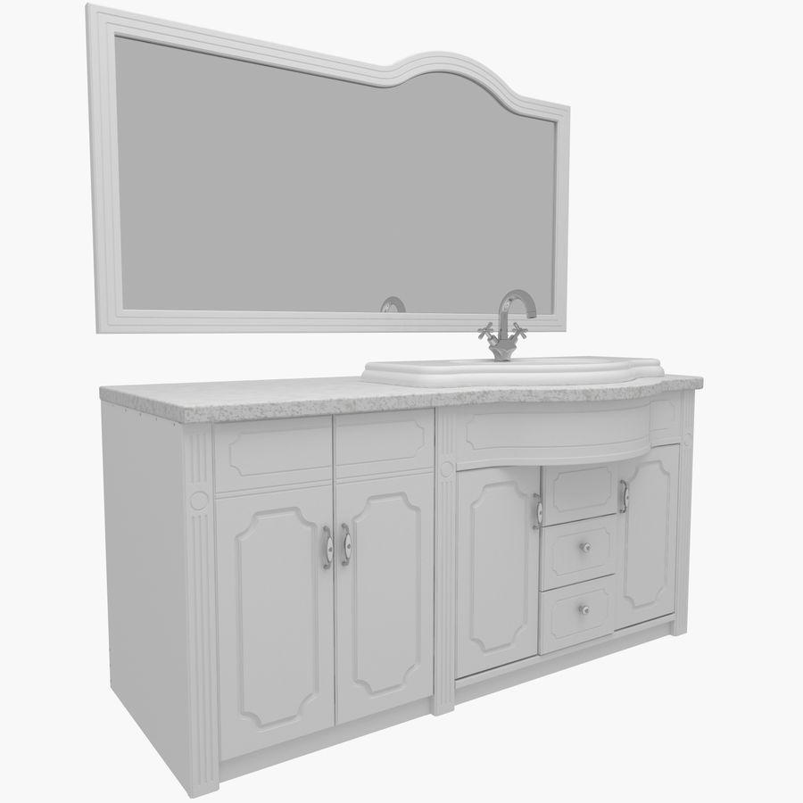 Banyo Mobilyaları 04 royalty-free 3d model - Preview no. 1