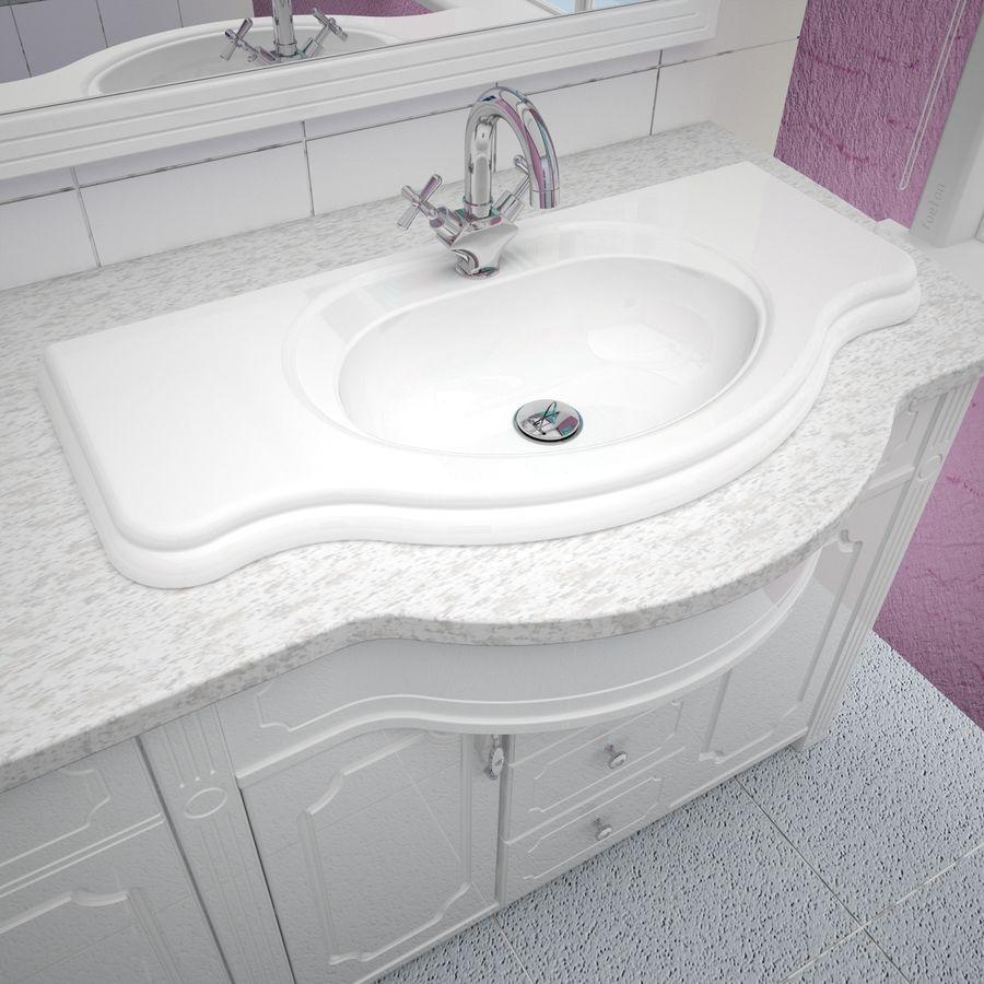 Banyo Mobilyaları 04 royalty-free 3d model - Preview no. 6