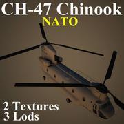 CH47 NAT 3d model