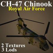 CH47 RAF 3d model
