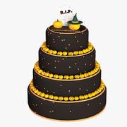 Torta Di Halloween 3d model