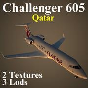 CL605 QTR 3d model
