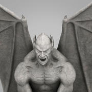 Heykeli Gargoyle 3d model