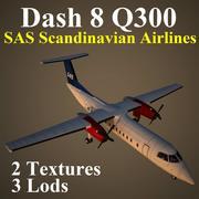 DH8C SAS 3d model