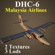 DHC6 MAS 3d model