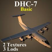 DHC7 기본 3d model