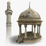 Arab Buildings Set 3d model