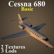 C680 Basic 3d model