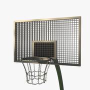 Streetball Ground 3d model