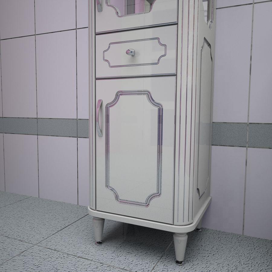 Muebles de baño 13 royalty-free modelo 3d - Preview no. 12