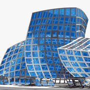 Abstract Building 3d model