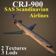 CRJ9 SAS 3d model