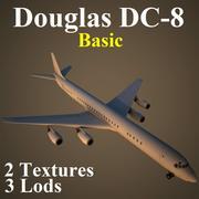 DC8 Basic 3d model
