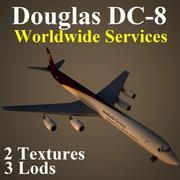 DC8 UPS 3d model