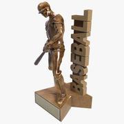 Trofeo di baseball 3d model