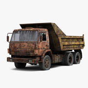 КамАЗ 3d model